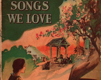 Treasure Chest of Songs We Love * 1936 * Vintage Music Book