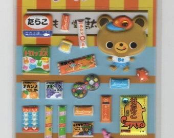 Petit Seal * Nom Nom * Bear * Bunnies * Candy Shop * Sweets * Sticker Set * Japanese Stationery