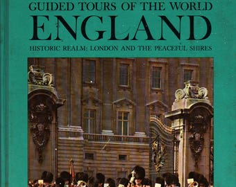 England Guided Tours of the World Historic Realm: London and the Peaceful Shires + Edward R. Murrow + 1961 + Vintage Book