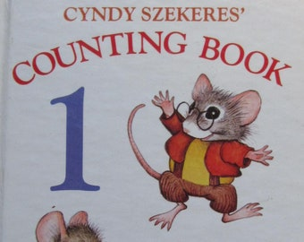 Cyndy Szekeres' Counting Book 1 to 10 + Western Publishing + 1984 + Vintage Kids Book