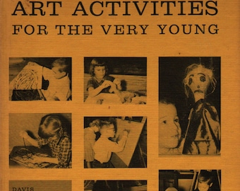 Art Activities For the Very Young + F. Louis Hoover + 1963 + Vintage Craft Book