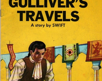 Gulliver's Travels a Giant Fairy Story * A story by Swift * R Canaider (?) Corraider (?) * 1983 * Vintage Kids Book