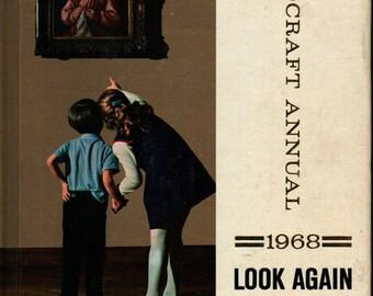 Childcraft Annual 1968: Look Again * Field Enterprises * 1968 * Vintage Kids Book