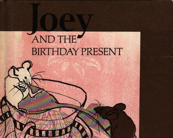 Joey and the Birthday Present + Maxine Kumin and Anne Sexton + Evaline Ness + McGraw Hill + 1971 + Vintage Kids Book