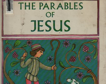 The Parables of Jesus – First Edition + Tomie DePaola + 1987 + Vintage Kids Book