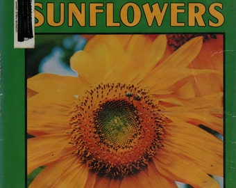 Sunflowers a Lerner Natural Science Book * Cynthia Overbeck * Susumu Kanozawa * 1981 * Vintage Kids Book