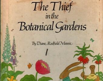 The Thief in the Botanical Gardens + Diane Redfield Massie + 1975 + Vintage Kids Book
