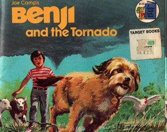 Joe Camp's Benji and the Tornado * Gina Ingoglia * Barbara Schaare * 1981 * Vintage Kids Book