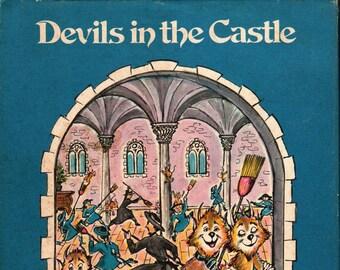 Devils in the Castle * Signed * Jean Lareuse  * Charles Scribner's Sons * 1979 * Vintage Kids Book