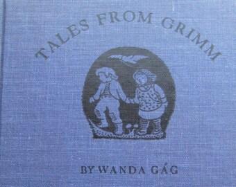 Tales From Grimm * Wanda Gag * Coward, McCann & Geoghegan * 1936 * Vintage Kids Book