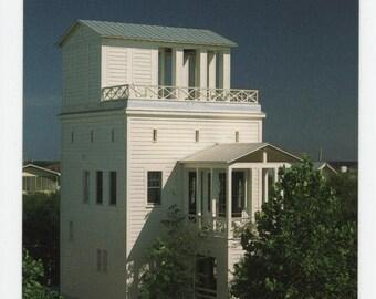 Krier Cottage * Seaside * Florida * The Truman Show * Leon Krier * Vintage Postcard