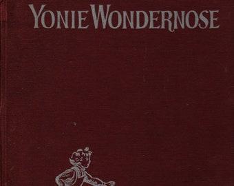 Yonie Wondernose + Marguerite de Angeli + Doubleday Doran & Co. + 1944 + Vintage Kids Book