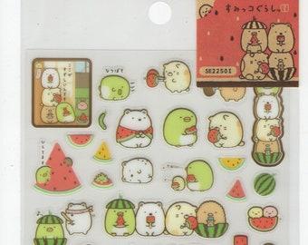 San-X * Sumikko Garashi * Watermelon Party * Sticker Set