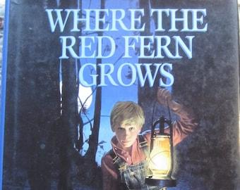 Where the Red Fern Grows + Wilson Rawls + Bantam Books + 1992 + Vintage Kids Book