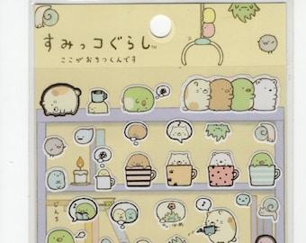 SAN-X Sumikko Gurashi Things in the Corner Sticker Set
