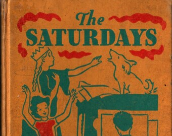 The Saturdays + Elizabeth Enright + Cadmus Books + 1941 + Vintage Kids Book