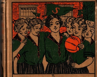 Marjorie Dean * High School Junior * Pauline Lester * A. L. Burt * 1917 * Vintage Teen Book