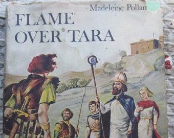 Flame Over Tara * Madeleine Polland * Omar Davis * Doubleday & Company * 1964 * Vintage Kids Book