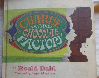 Charlie and the Chocolate Factory * Roald Dahl * Joseph Schindelman * Concorde Confections * Alfred A. Knopf * 1973 + Vintage Kids Book