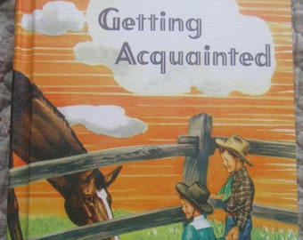 Getting Acquainted * Winston Health Series * 1954 * Vintage Text Book