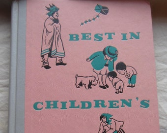Best In Children's Books Vol. 31 * Nelson Doubleday * 1960 * Vintage Kids Book