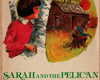 Sarah and the Pelican * Second Printing * Margaret Epp * Robert G. Doares * Victor Books * 1979 + Vintage Kids Book