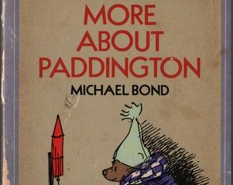 More About Paddington + Michael Bond + Peggy Fortnum + Dell Publishing Co. + 1976 + Vintage Kids Book