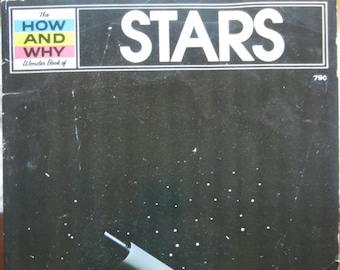 The How and Why Wonder Book of Stars * Norman Hoss * James Ponter * Grosset & Dunlap * 1975 * Vintage Science Book