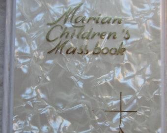 Marian Children's Massbook * Sister Mary Theola * The Regina Press * 1982 * Vintage Religious Book