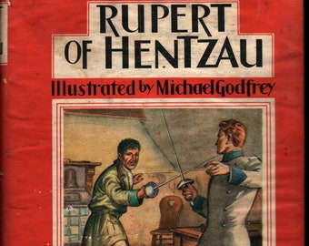 Rupert of Hentzau * Anthony Hope * Michael Godfrey * J. M. Dent & Sons, Ltd * 1963 * Vintage Literature Book