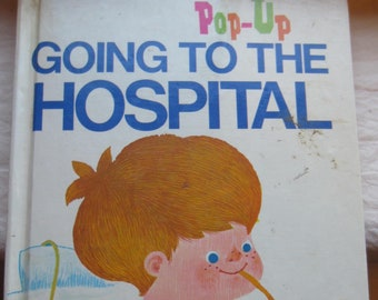 Pop-Up Going To The Hospital * Lester Coleman * Random House * Vintage Kids Book