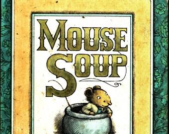 Mouse Soup * Arnold Lobel * Weekly Reader * 1977 * Vintage Kids Book