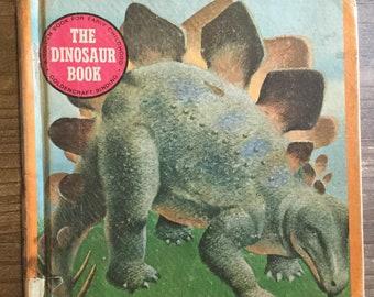 The Dinosaur Book * Robert J Lee * Golden Press * 1975 * Vintage Kids Book