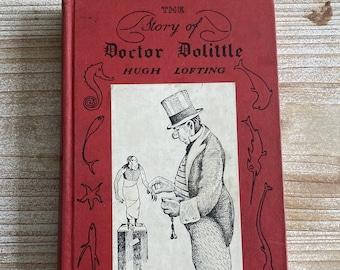The Story of Doctor Dolittle * Hugh Lofting * J. B. Lippincott Company * 1948 * Vintage Kids Book