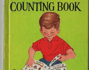 The Counting Book * John Peter * Bob Riley * Wonder Books * 1957 * Vintage Kids Book