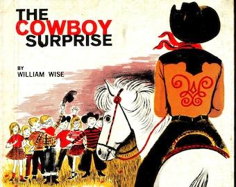 The Cowboy Surprise * William Wise * Paul Galdone * G. P. Putnam's Sons * 1961 * Vintage Kids Book