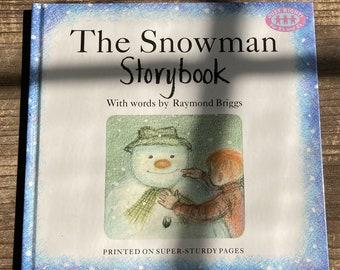 The Snowman Storybook * Raymond Briggs * Random House * 1990 * Vintage Christmas Book