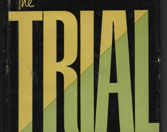 The Trial * Definitive Edition * Franz Kafka * The Modern Library * 1956 * Vintage Literature Book