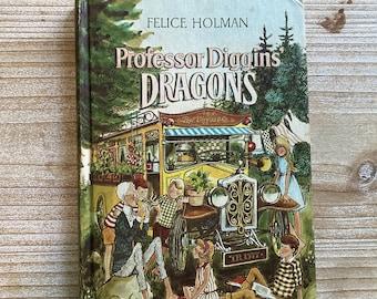 Professor Diggins Dragons * Felice Holman * Ib Ohlsson * Weekly Reader * 1966 * Vintage Kids Book