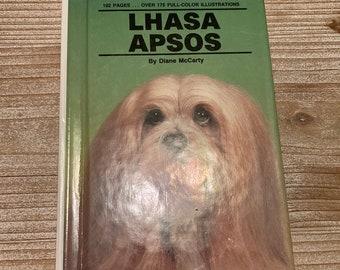 Lhasa Apsos * Diane McCarty * TFH Publications Inc. * 1991 * Vintage Dog Book