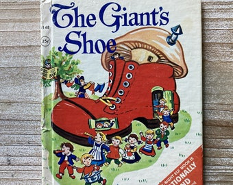 The Giant's Shoe * Jessica Nelson North * Esther Friend * Rand McNally * 1967 * Vintage Kids Book