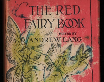 The Red Fairy Book * Looking Glass Library * Andrew Lang, editor * Reisie Lonette * Random House * 1960 * Vintage Kids Book