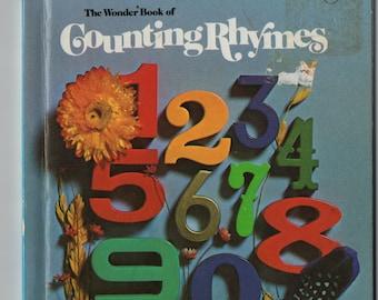 The Wonder Book of Counting Rhymes * June Pierce * Virginia Parsons * Wonder Books * 1983 * Vintage Kids Book