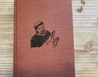 St Dominic and the Rosary * Signed * First Edition * Catherine Beebe * Robb Beebe * Vision Books * 1956 * Vintage Religious Book