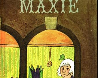 Maxie * Mildred Kantrowitz * Emily A. McCully * Parents Magazine Press * 1970 * Vintage Kids Book