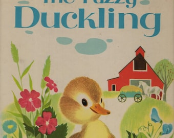The Fuzzy Duckling * A Big Golden Book * Jane Werner * Alice and Martin Provensen * Golden Press * 1963 * Vintage Kids Book