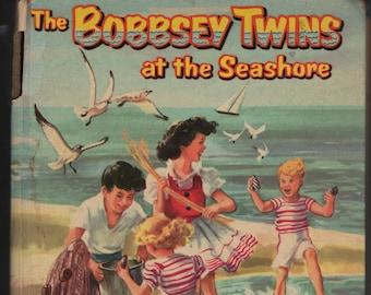 The Bobbsey Twins at the Seashore * Laura Lee Hope * Janet Laura Scott * Whitman Publishing * 1954 * Vintage Kids Book