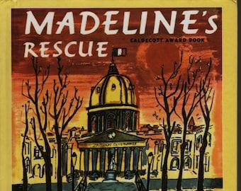 Madeline's Rescue * & * Ludwig Bemelmans * Weekly Reader * 1981 * Vintage Kids Book
