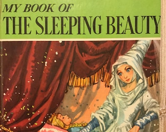 My Book of the Sleeping Beauty * A Giant Maxton Book * Jane Carruth * Maraja * Maxton Publishing * 1960 * Vintage Kids Book