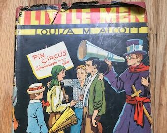 Little Men * Louisa May Alcott * The Goldsmith Publishing Company * undated * Vintage Literature Book